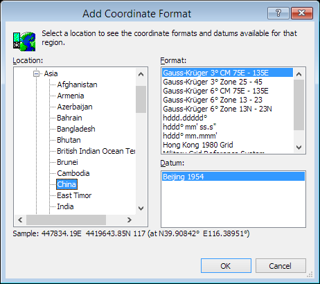 ExpertGPS is a batch coordinate converter for Chinese GPS, GIS, and CAD coordinate formats.