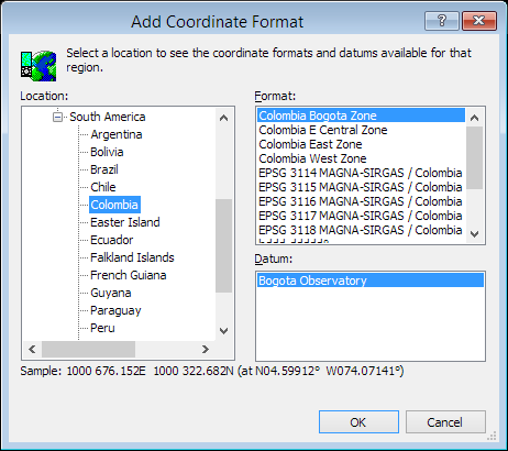 ExpertGPS is a batch coordinate converter for Colombian GPS, GIS, and CAD coordinate formats.