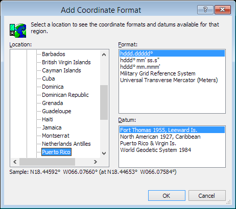 ExpertGPS is a batch coordinate converter for Puerto Rican GPS, GIS, and CAD coordinate formats.