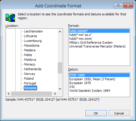 ExpertGPS is a batch coordinate converter for Romanian GPS, GIS, and CAD coordinate formats.