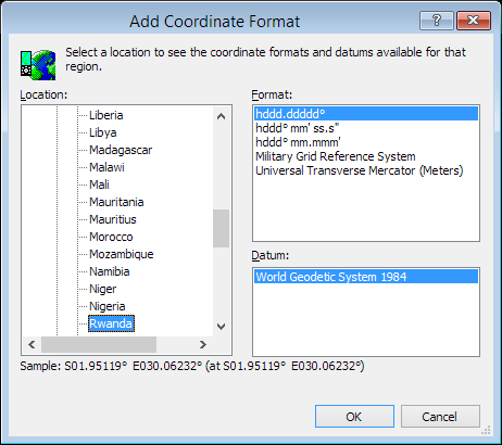 ExpertGPS is a batch coordinate converter for Rwandan GPS, GIS, and CAD coordinate formats.