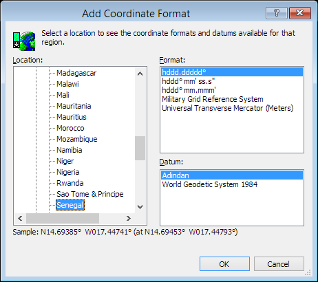 ExpertGPS is a batch coordinate converter for Senegalese GPS, GIS, and CAD coordinate formats.