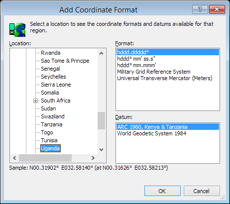 ExpertGPS is a batch coordinate converter for Ugandan GPS, GIS, and CAD coordinate formats.
