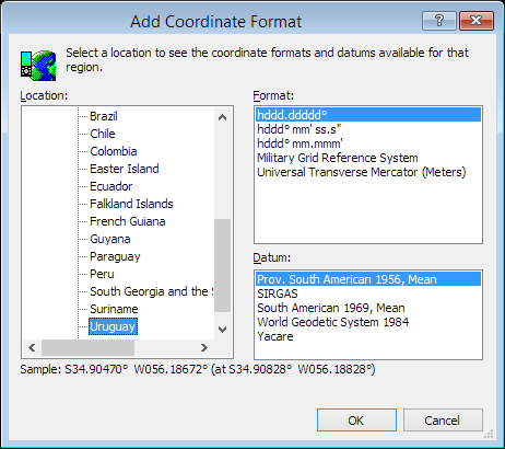 ExpertGPS is a batch coordinate converter for Uruguayan GPS, GIS, and CAD coordinate formats.