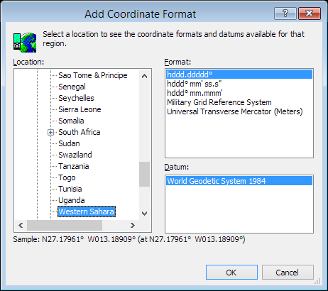 ExpertGPS is a batch coordinate converter for Sahra GPS, GIS, and CAD coordinate formats.
