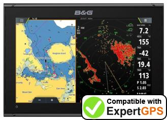 Download your B&G Vulcan 12 waypoints and tracklogs and create maps with ExpertGPS