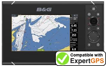 Download your B&G Zeus3 7 waypoints and tracklogs and create maps with ExpertGPS