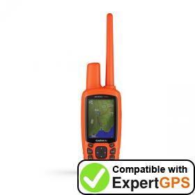 Download your Garmin Astro 900 waypoints and tracklogs and create maps with ExpertGPS