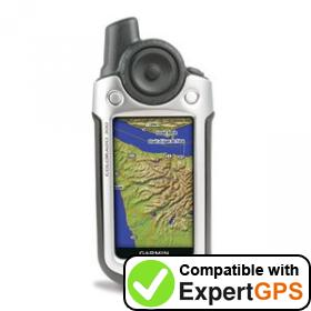 Download your Garmin Colorado 300 waypoints and tracklogs and create maps with ExpertGPS