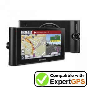 Download your Garmin dēzlCam LMTHD waypoints and tracklogs and create maps with ExpertGPS
