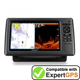 Download your Garmin echoMAP 94sv waypoints and tracklogs and create maps with ExpertGPS