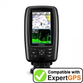 Download your Garmin echoMAP CHIRP 44dv waypoints and tracklogs and create maps with ExpertGPS