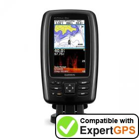 Download your Garmin echoMAP CHIRP 45dv waypoints and tracklogs and create maps with ExpertGPS