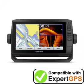 Download your Garmin ECHOMAP Plus 93sv waypoints and tracklogs and create maps with ExpertGPS