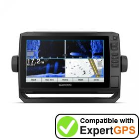 Download your Garmin ECHOMAP UHD 95sv waypoints and tracklogs and create maps with ExpertGPS