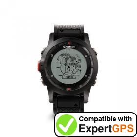 Download your Garmin fēnix waypoints and tracklogs and create maps with ExpertGPS