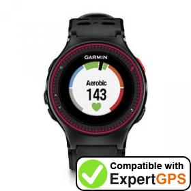 Download your Garmin Forerunner 225 waypoints and tracklogs and create maps with ExpertGPS