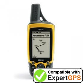 Download your Garmin GPS 60 waypoints and tracklogs and create maps with ExpertGPS