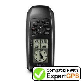 Download your Garmin GPS 73 waypoints and tracklogs and create maps with ExpertGPS