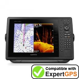 Download your Garmin GPSMAP 1020xs waypoints and tracklogs and create maps with ExpertGPS