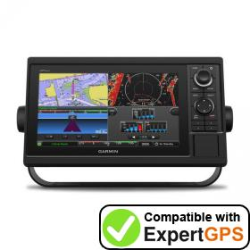 Download your Garmin GPSMAP 1022 waypoints and tracklogs and create maps with ExpertGPS
