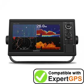 Download your Garmin GPSMAP 1022xsv waypoints and tracklogs and create maps with ExpertGPS
