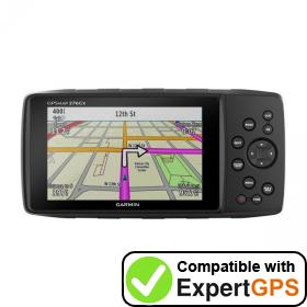 Download your Garmin GPSMAP 276Cx waypoints and tracklogs and create maps with ExpertGPS