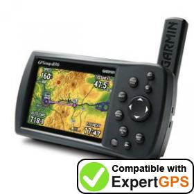 Download your Garmin GPSMAP 496 waypoints and tracklogs and create maps with ExpertGPS