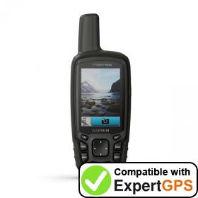 Download your Garmin GPSMAP 64csx waypoints and tracklogs and create maps with ExpertGPS