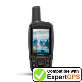 Download your Garmin GPSMAP 64sc waypoints and tracklogs and create maps with ExpertGPS