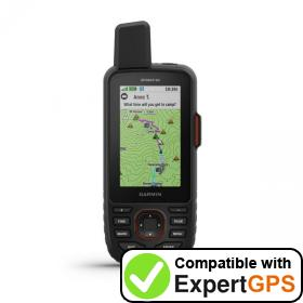 Download your Garmin GPSMAP 66i waypoints and tracklogs and create maps with ExpertGPS