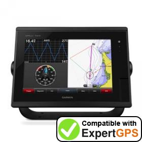 Download your Garmin GPSMAP 7410 waypoints and tracklogs and create maps with ExpertGPS