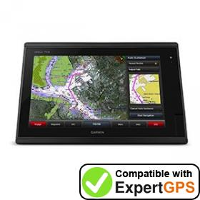Download your Garmin GPSMAP 7416 waypoints and tracklogs and create maps with ExpertGPS