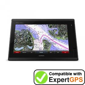 Download your Garmin GPSMAP 7416xsv waypoints and tracklogs and create maps with ExpertGPS