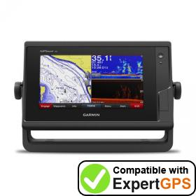 Download your Garmin GPSMAP 742xs waypoints and tracklogs and create maps with ExpertGPS