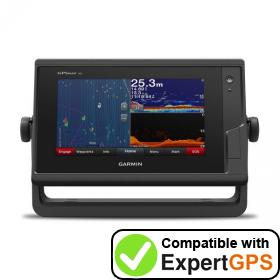 Download your Garmin GPSMAP 752xs waypoints and tracklogs and create maps with ExpertGPS
