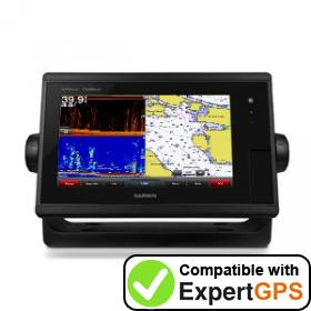 Download your Garmin GPSMAP 7608xsv waypoints and tracklogs and create maps with ExpertGPS