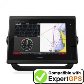 Download your Garmin GPSMAP 7610 waypoints and tracklogs and create maps with ExpertGPS
