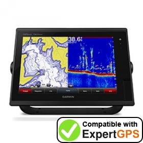 Download your Garmin GPSMAP 7610xsv waypoints and tracklogs and create maps with ExpertGPS