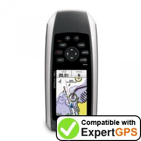 Download your Garmin GPSMAP 78sc waypoints and tracklogs and create maps with ExpertGPS