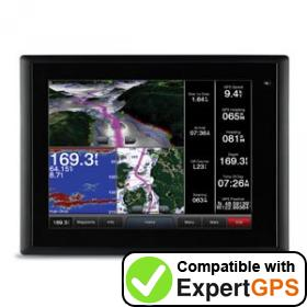 Download your Garmin GPSMAP 8015 MFD waypoints and tracklogs and create maps with ExpertGPS