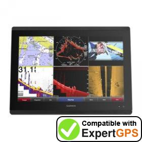 Download your Garmin GPSMAP 8417 MFD waypoints and tracklogs and create maps with ExpertGPS
