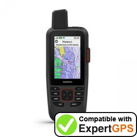 Download your Garmin GPSMAP 86sci waypoints and tracklogs and create maps with ExpertGPS