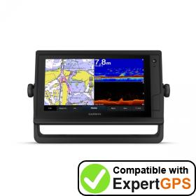 Download your Garmin GPSMAP 922xs Plus waypoints and tracklogs and create maps with ExpertGPS