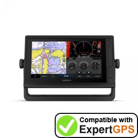 Download your Garmin GPSMAP 942 Plus waypoints and tracklogs and create maps with ExpertGPS