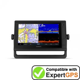 Download your Garmin GPSMAP 952xs Plus waypoints and tracklogs and create maps with ExpertGPS