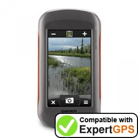 Download your Garmin Montana 650 waypoints and tracklogs and create maps with ExpertGPS