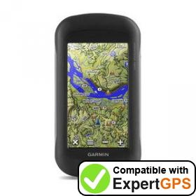 Download your Garmin Montana 680t waypoints and tracklogs and create maps with ExpertGPS