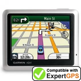 Download your Garmin nüvi 1200 waypoints and tracklogs and create maps with ExpertGPS