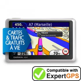 Download your Garmin nüvi 1340LMT waypoints and tracklogs and create maps with ExpertGPS